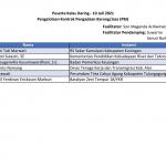 Daftar Peserta Pelatihan - 10 Juli 2021